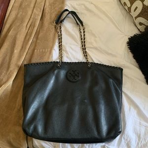 Tory Burch Tote (Black Leather)